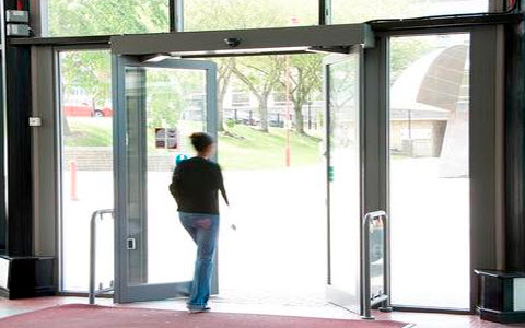 Automatic Door Opening System Using Pir Sensor
