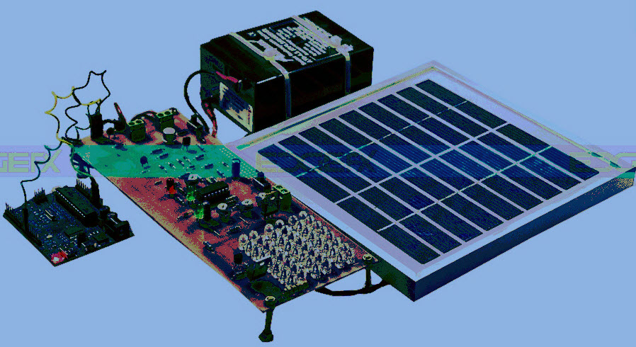 Arduino based Solar Street Light Project Kit by Edgefxkits.com