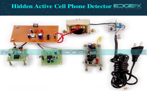 Hidden Active Cell Phone Detector And Applications