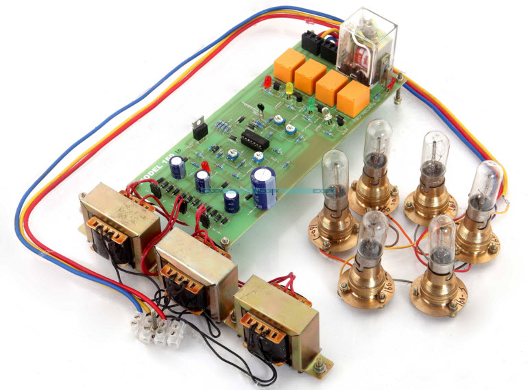 Induction Motor Protection System Project Kit by Edgefxkits.com