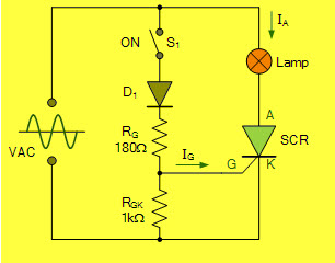 Scr Circuit Diagram | Overview Of Thyristors Circuits Types And Applications