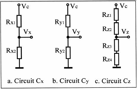 Circuit Diagram of Tactile Sensor