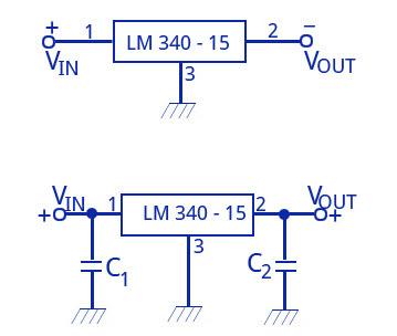 LM340-15 Circuit