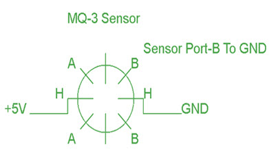 Pin Configuration Of Alcohol Sensor