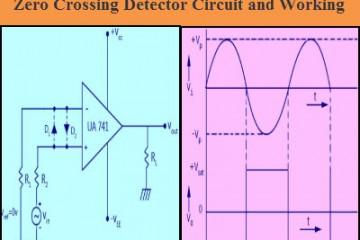 Zero Crossing Detector Circuit and Working