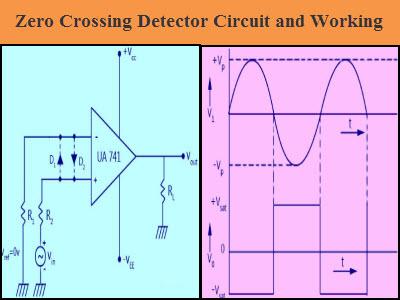 zero crossing detector circuit and its applications rh elprocus com Pic Microcontroller Zero Crossing circuit diagram of zero crossing detector