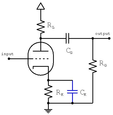 Cathode Bypass Capacitor