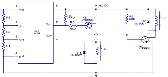 Electronic Thermostat Circuit