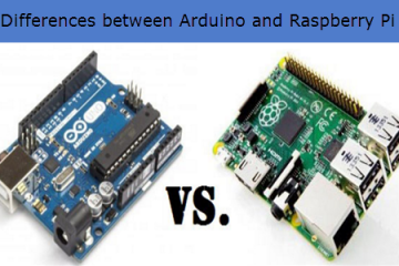 Differences between Arduino and Raspberry Pi
