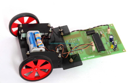 Wireless Robotic Vehicle
