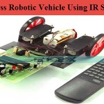 Wireless Robotic Vehicle Using IR Sensors by Edgefxkits.com