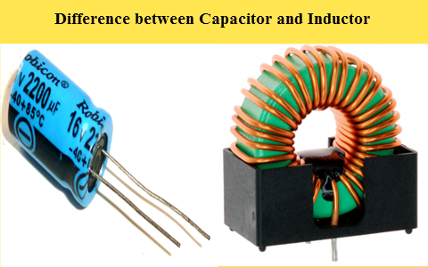 Difference between Capacitor and Inductor