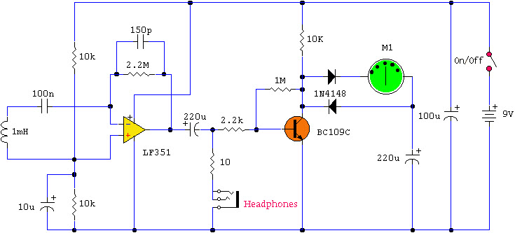 EMF Detector Circuit, Types and its Applications