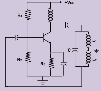 hartley oscillator circuit theory working and applicationhartley oscillator circuit