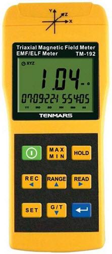 Tri-axis EMF Meter