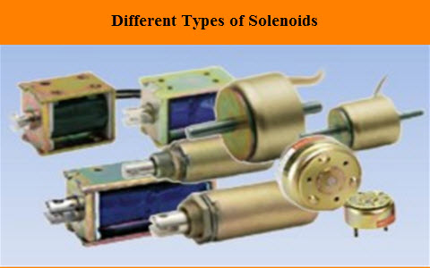 Types of Solenoid, Working Principle and Its Applications