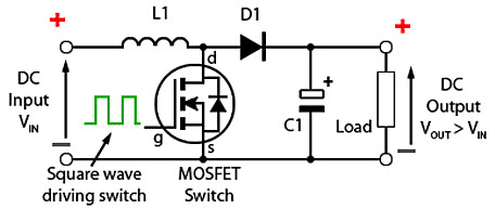 Boost Converter Working