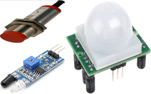Difference between the Motion Sensor, Position Sensor and Proximity Sensor