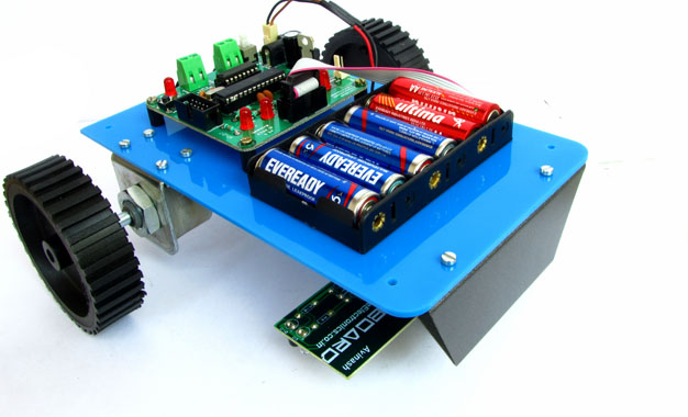 Atmega8 based Project