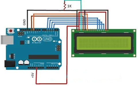How to Interface Liquid Crystal Display Using An Arduino
