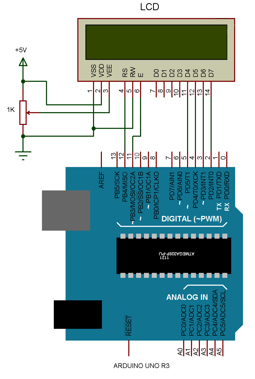 Interfacing Lcd With Arduino  Arduino Series