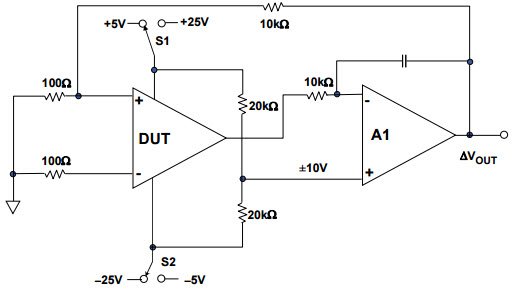 CMRR without Using Precision Resistors