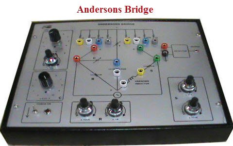 Andersons Bridge Circuit Working, Advantages and Disadvantages