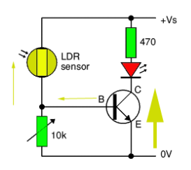 how to use a transistor as a switch in different applications rh elprocus com Use a Transistor as Switch NPN Transistor Switch