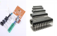 Difference between Discrete Circuits and Integrated Circuits