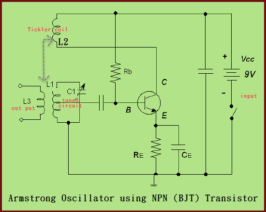Armstrong Oscillator Construction and Its applications