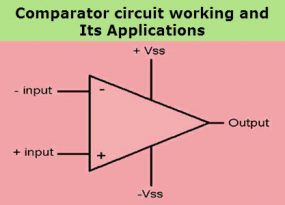 Comparator Circuit Working and Applications
