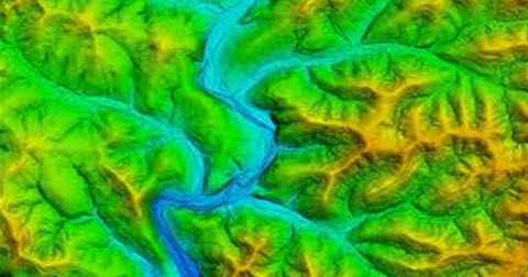 River Survey Using LIDAR
