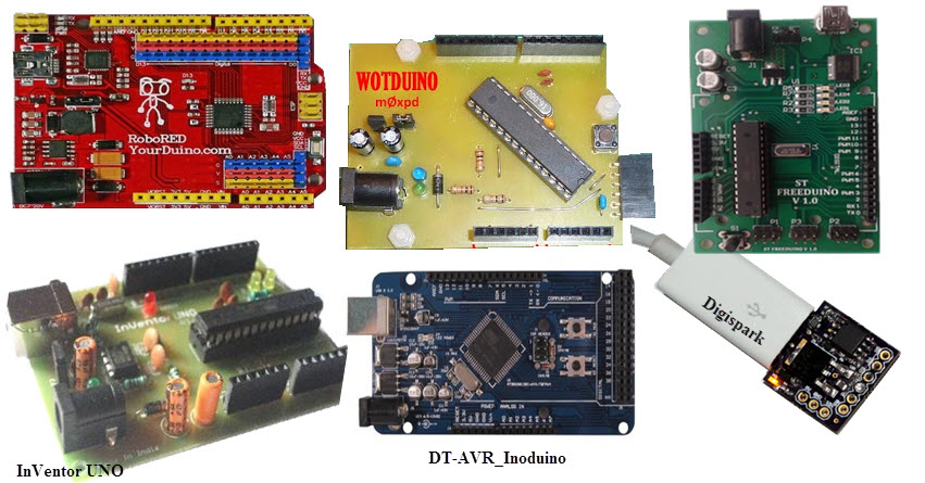 Arduino Compatible Hardware