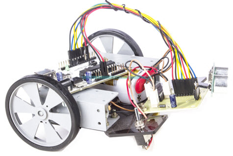Arduino Operated Obstacle Avoidance Robot