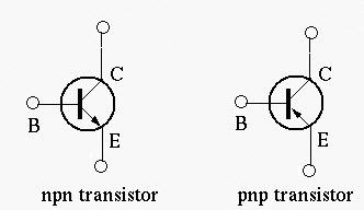 NPN and PNP Transistors