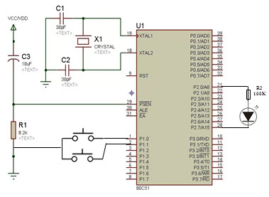 Bipolar LED Driver Circuit using a Microcontroller
