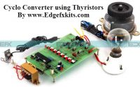 Cyclo Converter using Thyristors