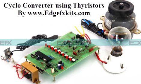 Cyclo Converter using Thyristors