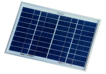 10 Watt, 12 Volt Solar Panel