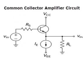 Common Collector Amplifier Circuit