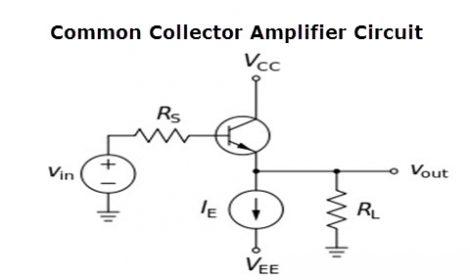 Common Collector Amplifier Circuit