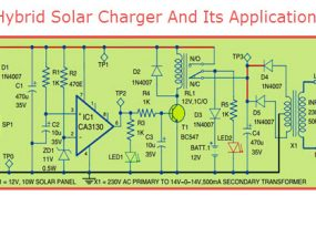 Hybrid Solar Charger And Its Applications
