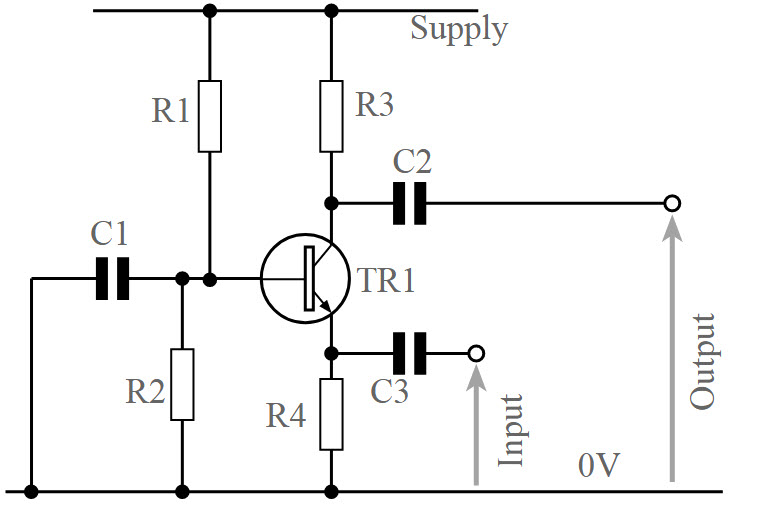 bjt common base amplifier circuit working and applications rh elprocus com Buckeye CB Wiring Diagrams Honda CB750 Wiring-Diagram
