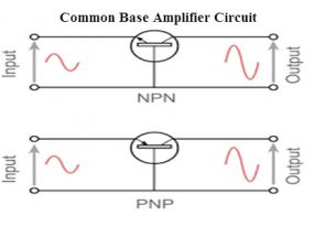 Common Base Amplifier Circuit