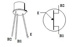 2N2646 UJT Symbol