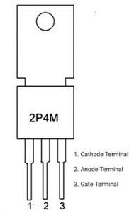 2P4M SCR Pin Configuration