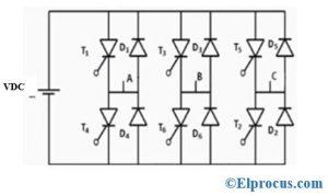 3 Phase Full Bridge Voltage Source Inverter