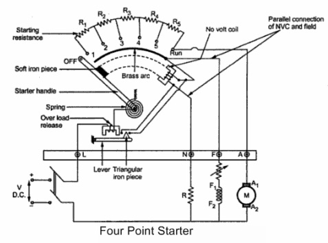 4 point Starter Circuit Diagram