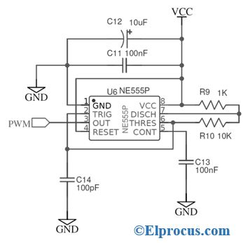 555 IC Circuit