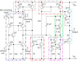 741 IC Internal Circuit
